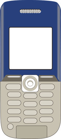 talker: Illustration of a phone on a white background