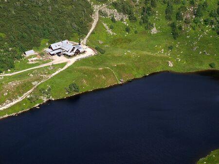 Mountain House in Krkonose poland photo