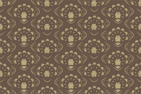 Seamless background Retro old Patern