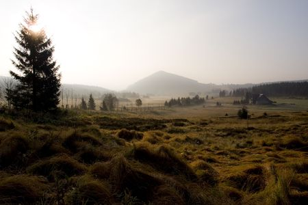 Jizera mountain panorama,Liberec, Czech Republic