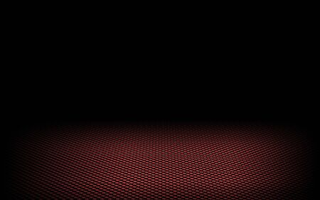 abstract dynamic dots red background on black photo