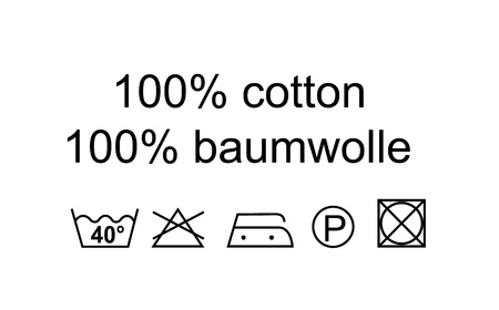 washing   textile symbols on white background Stock Photo - 13456331