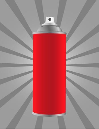 Spray tin on stripes background photo