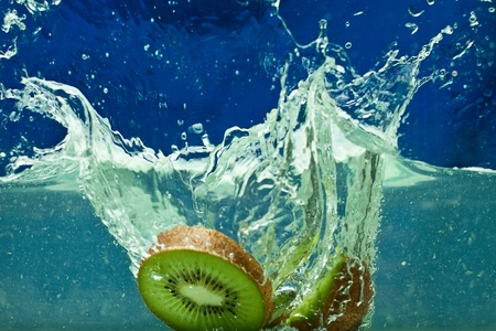 fresh fruit in the water