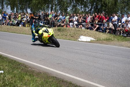 MOTORBIKE RACING 300 ZGH Horice Stock Photo - 13460365