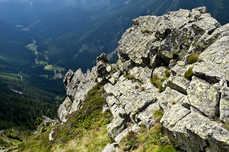 krkonose: Panorama of The Krkonose Mts  National Park-Czech Republic Europe