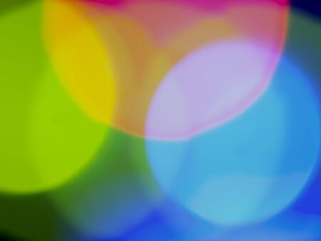Color abstract background with rounds Stock Photo - 13457004
