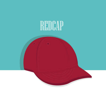 Graphic side angle Baseball hat or cap. Our cap puts the finishing touches on any streetwise drawn characters outfit. Illustration