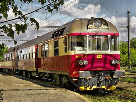 Diesel locomotive 854.021