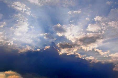 Rays of sun Reklamní fotografie