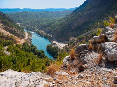 Oymapinar Dam Manavgat River