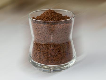 Káva granulovaný Reklamní fotografie