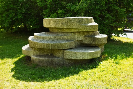 stone statue Reklamní fotografie - 41076982