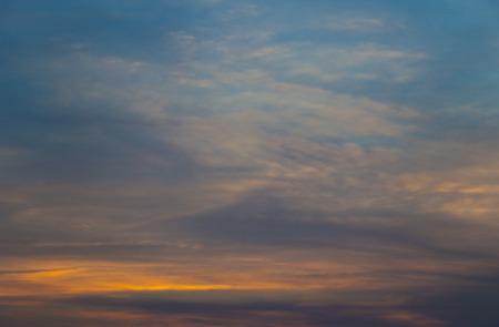 mraky stmívání
