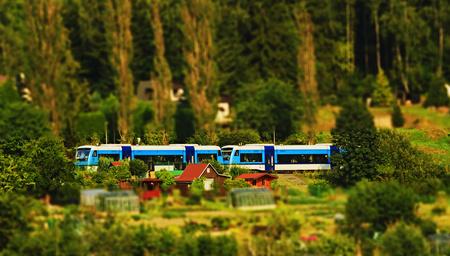 Photo taken August 4, 2015 in Jablonec nad Nisou railways from Liberec to Tanvald Czech Republic Redakční