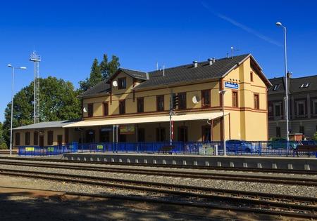 train station Jablonec nad Nisou Reklamní fotografie
