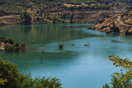 Blízký pohled na jezero