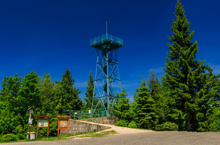 overall view of the Slovanka lookout tower