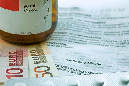 public welfare: Concept of medicine, copayment for medicines, Spain