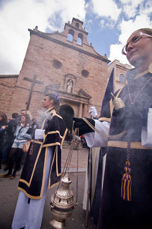 collectivity: Censer of silver or alpaca to burn incense in the holy week, Spain Editorial