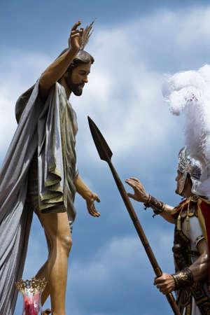 fraternit�: Confr�rie de Notre P�re J�sus ressuscit�, Linares, Jan, Espagne