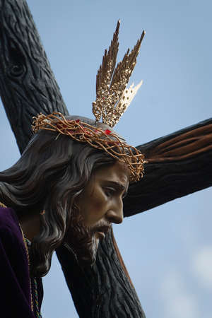collectivity:  Brotherhood of our father JesusNazareno, Linares, Ja�n, Spain