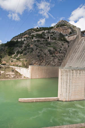 confederation: It was inaugurated on June 3, 1969, and belongs to the Guadalquivir hydrographic Confederation  The main tributary of the river Guadalquivir, the Genil, becomes Izn�jar in the largest swamp in Andalusia