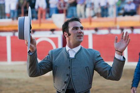 alvaro: The Spanish Bullfighter Alvaro Montes to the turning of honour, Sabiote, province of Ja�n, Spain, 24 march 2011