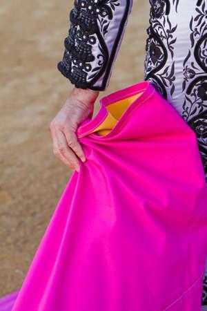 corrida: Torero avec le Cap avant la corrida, Espagne