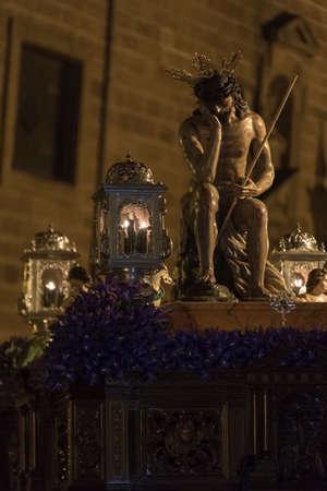 humility: Linares, nella provincia di Jaen, Spagna - 15 marzo 2014 Padre Nostro Ges� di umilt�