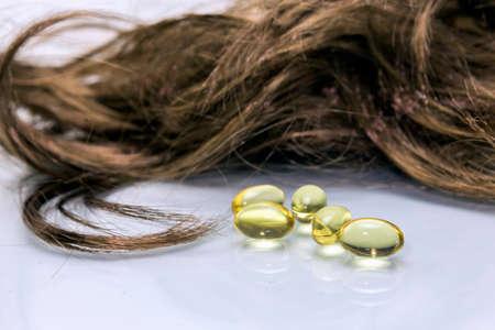 Capsule di olio per i capelli, compresse capelli