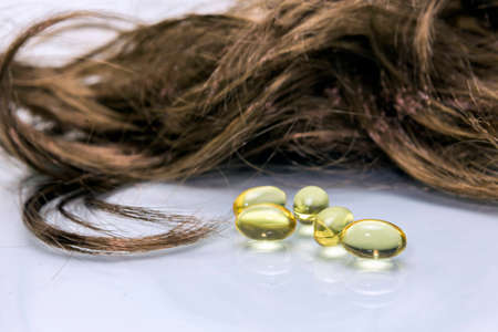 Oil Capsules for hair, Tablets Hair