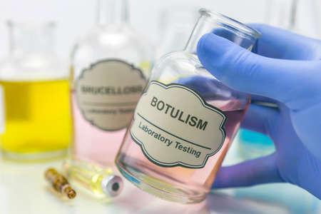 colera: Muestra de c�lera en el laboratorio, el concepto de la salud