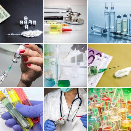 contagious: Healtcare concept, contagious illnesses