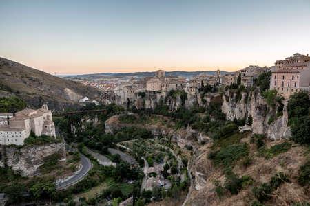 cuenca: view of medieval city Cuenca - Spain