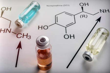 Formulation chimique et médicaments. Concept scientifique Banque d'images - 89046074