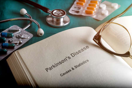 Open Book Of Parkinsons Disease, Conceptual Image