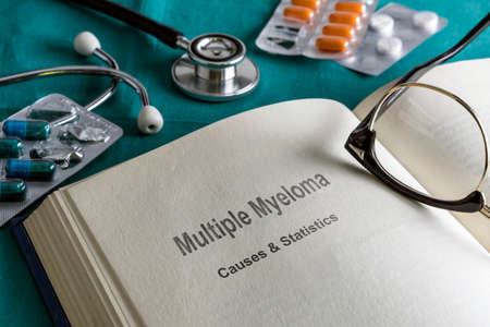 Open Book Of multiple myeloma, Conceptual Image