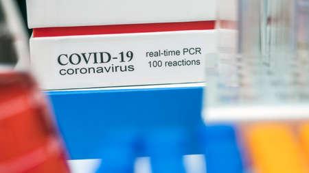 Novel coronavirus 2019 nCoV pcr diagnostics kit. This is RT-PCR kit to detect presence of 2019-nCoV or virus presence in clinical specimens, conceptua