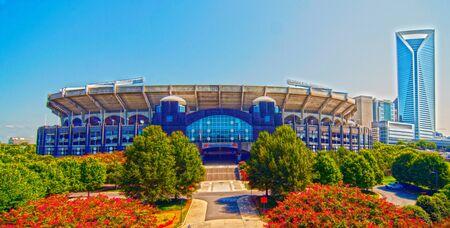 charlotte: Bank of America Stadium Charlotte North Carolina Panthers