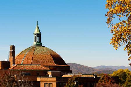 asheville: asheville autumn Stock Photo