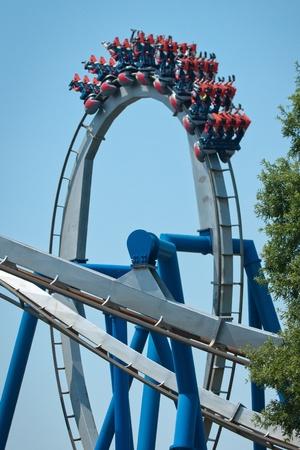 rollercoaster loop Stock Photo - 15837635