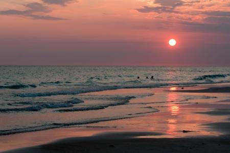 Panama City Sunset 版權商用圖片 - 15621733