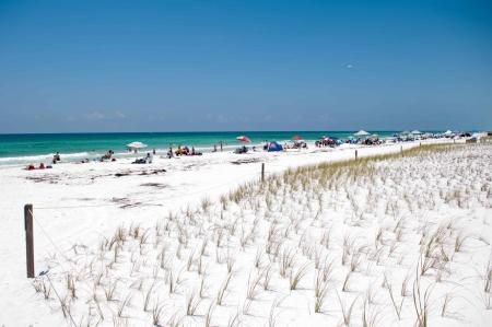 View of a Beach, Panama city Florida Zdjęcie Seryjne - 15835038