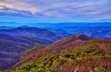 blue ridge parkway 版權商用圖片 - 16324033