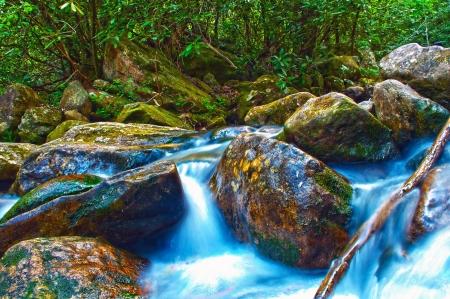 mountains stream Stock Photo - 16233524