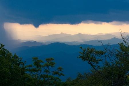 blue ridge parkway Stock Photo - 16347375