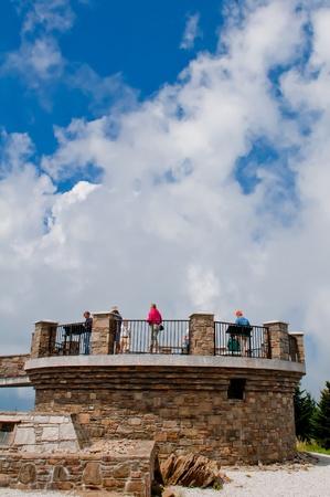 newfound gap: top of mount mitchell