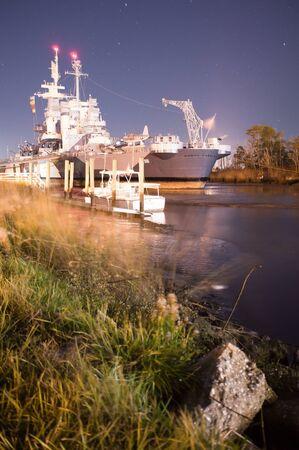 showboat: Battleship USS North Carolina