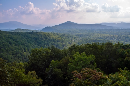 mountainscape: Mount Mitchell and the Black Mountains of North Carolina the Highest Peaks East of the Mississippi River